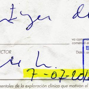 Falsificación de firmas en documentos