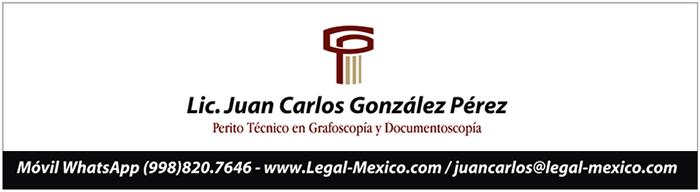 Listado de peritos en grafoscopía en Quintana Roo